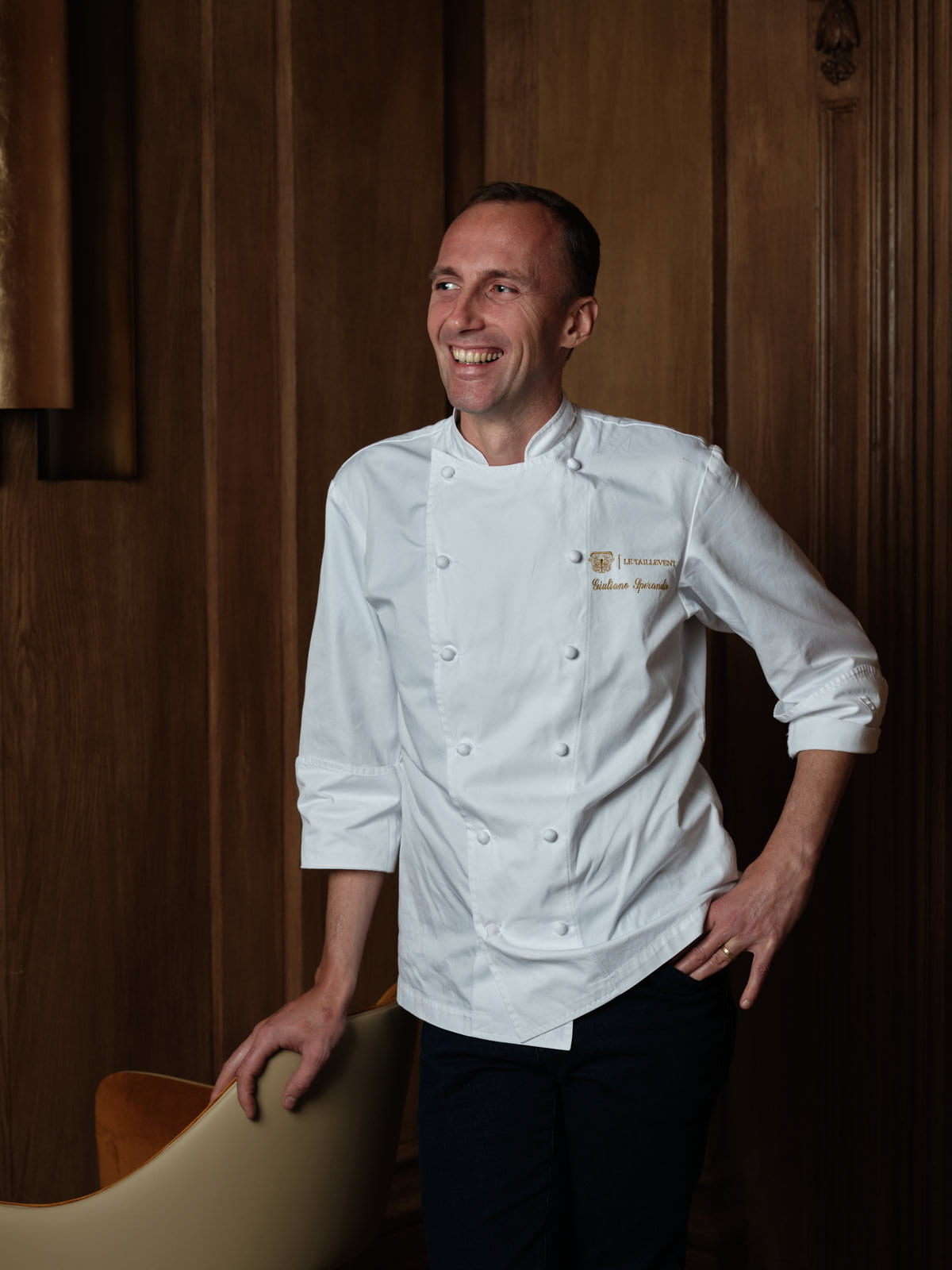 David Boyer Chef du restaurant