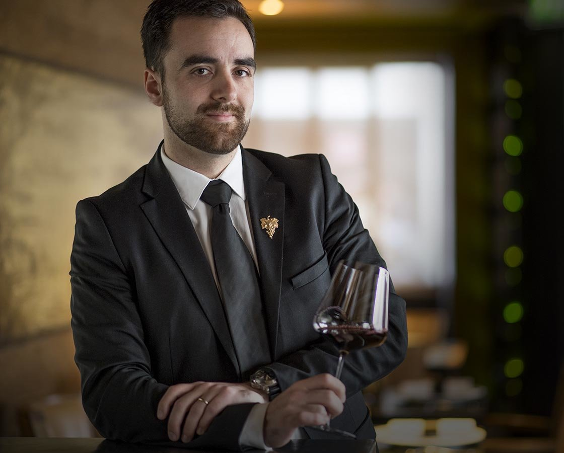 Julien Escarrié Chef Sommelier