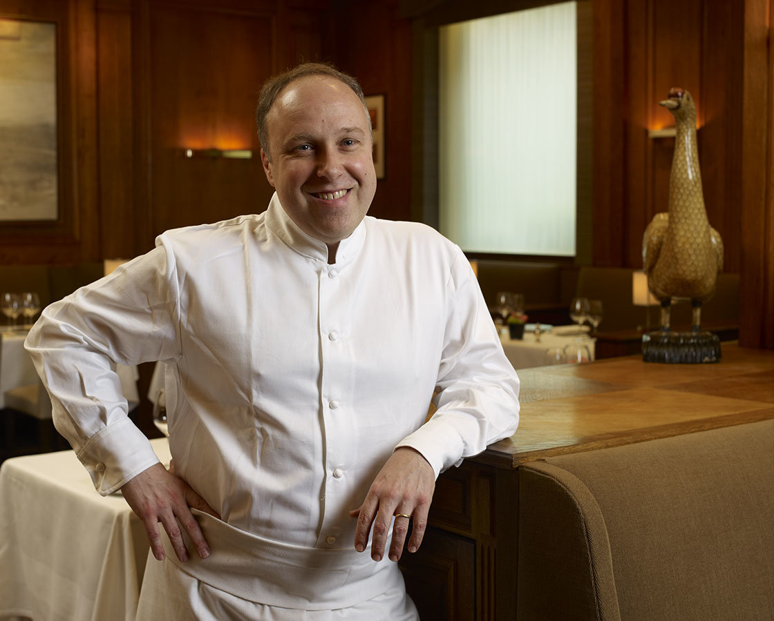 Alain Solivérès Head Chef restaurant Le Taillevent