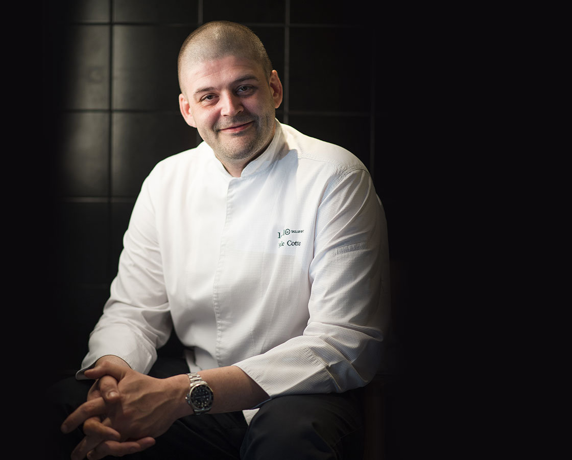 Emile Cotte Head Chef, Les 110 de Taillevent Paris